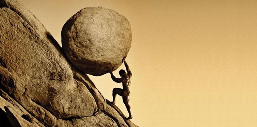 leadership can be a sisyphean task sometimes