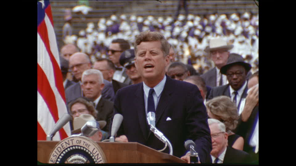 JFK's speech at Rice University