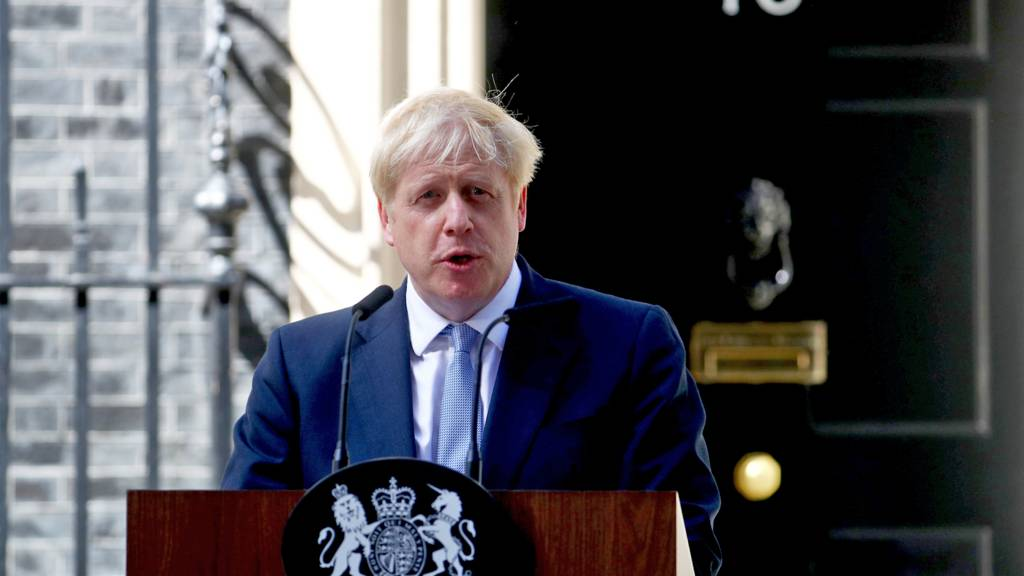 Boris Johnson's speech