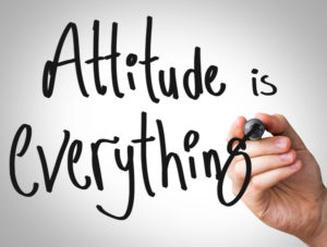 Attitude is everything in leadership